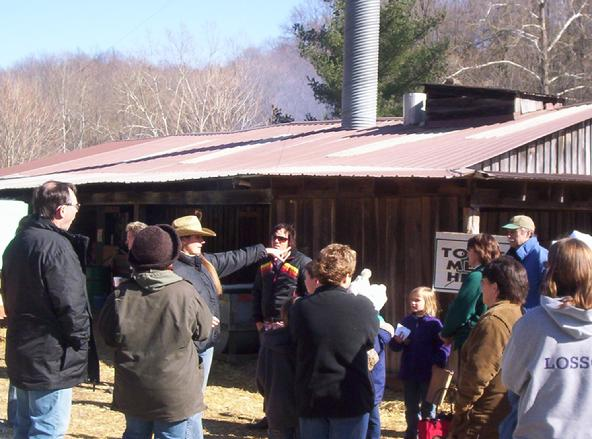 tours of maple syrup making